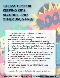 10 Easy Tips for keeping kids drug free